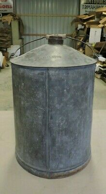 Antique NKP RR/Nickel Plate Road Railroad/RR, Oil/Water Can, Large, #1, (VBX)