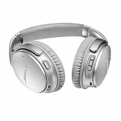 Bose QuietComfort QC 35 II Noise Cancelling Wireless Headphones - Silver