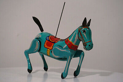 Without RED China TINTO MS 749 Horse made in China Pferd Blechspielzeug *651