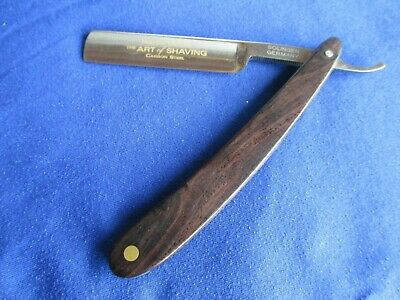 DOVO Straight Razor Hollow Ground Art of Shaving Carbon Steel Solingen Germany