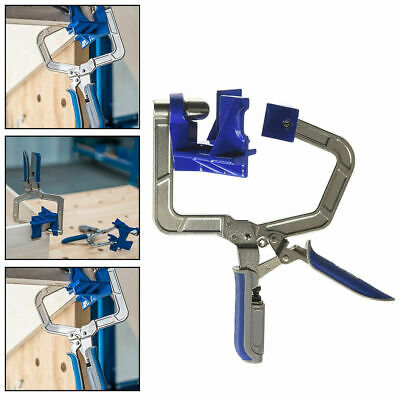 Kreg 90 Degree Right Angle Kreg KHCCC 90 Corner Clamp Woodworking Clamping Kit F