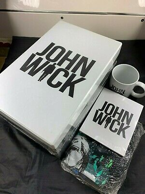 Fac #15 John Wick Angel & Devil In The Maniacs Collector's Box Steelbook Limited