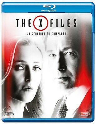 |1497662| X Files - Stagione 11 (3 Blu-Ray) - X Files Series [Blu-Ray] Sigillato