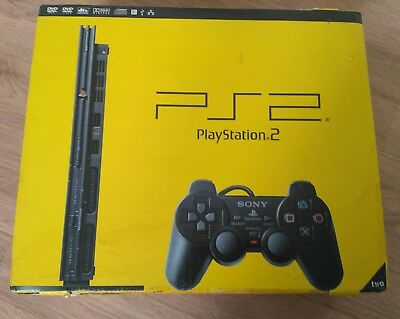 Consola Sony Playstation 2 Two Ps2 Scph 70004-Cb Nueva New Pal Version