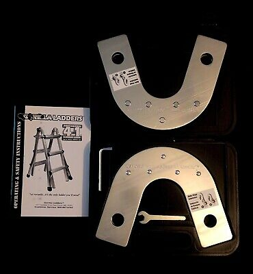 Gorilla Ladders Set of 2 Hinges for 4 in 1 Aluminum Ladder Assembly Tools Case