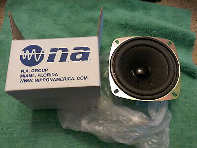 "2 PACK NBM-406A 4"" Speaker 20W 6 ohm NIPPON AMERICA new in box"