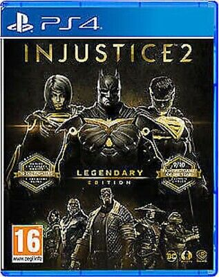 PS4 Injustice 2 Legendary Edition (Sony PlayStation 4, 2017)
