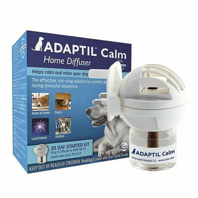 ADAPTIL Calm Home pheromones Diffuser and refill Separation anxiety puppy 30 day