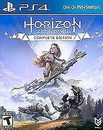 PS4 Horizon: Zero Dawn - Complete Edition (Sony PlayStation 4, 2017)