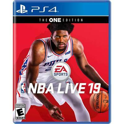NBA Live 19 (Sony Playstation 4, PS4) - COMPLETE