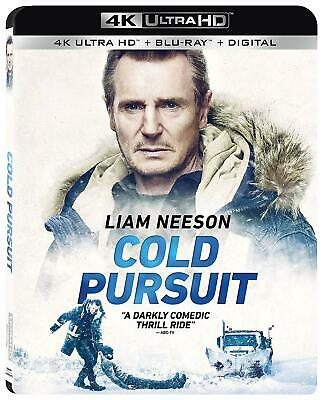 Cold Pursuit (4K UHD + Blu Ray + Digital) 2019 w/ SLIP COVER ***FREE SHIPPING***