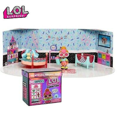 LOL Surprise Doll Spaces House Furniture NEON QT BEDROOM SAME DAY SHIPPING