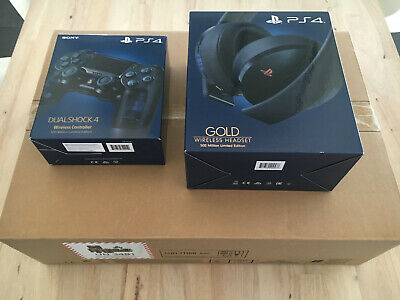 Console Sony Playstation PS4 Pro 500 Millions Limited Edition Version Française