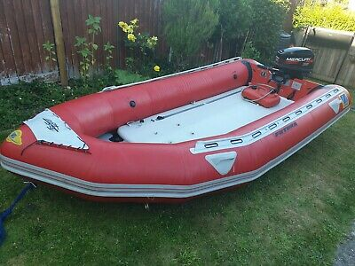 ZODIAC FUTURA MARK II - fast roller 4 2 m inflatable with 2-stroke Mercury  25 HP