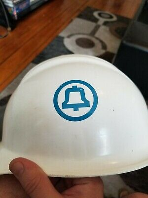 Vintage BELLSOUTH Southern Bell Telephone Lineman Safety Hard Hat Pre AT&T NICE