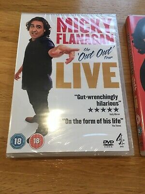 micky flanagan the complete live collection dvd Bnwt
