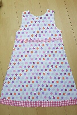 EX-MINI BODEN GIRLS CUTE DITSY FLOWER-POLKA DOT PLAYSUIT AGES 2-12