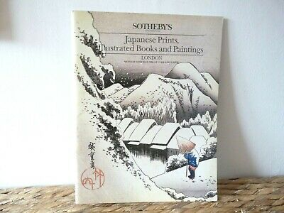 Sothebys Japanese Prints London May 1988 - 377 lots Catalogue