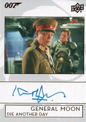 2019 James Bond Collection, Kenneth Tsang 'General Moon' Autograph Card A-KT