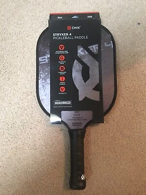 Onix Stryker 4 Pickleball Paddle Graphite Control & Spin Brand New Unused