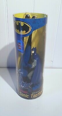 Batman Sonic Guard Black Electric Battery Operated Children's Toothbrush
