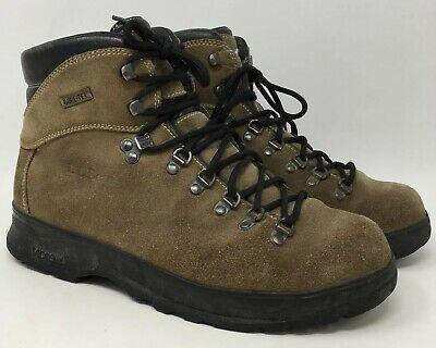 56358e09479 LL BEAN KNIFE Edge Hiking Boots Shoes Mens 11 M Blue Gray Leather ...