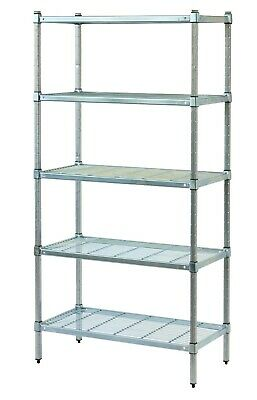 Coolroom Shelving Stainless Steel Post Wire Shelves 1800H x 450W