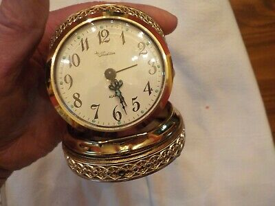 Tradition  Made In West Germany Wind Upo Alarm Clock Limoges
