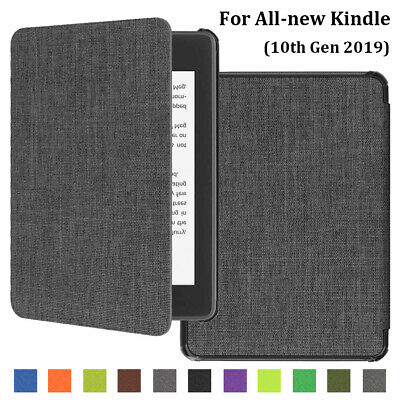 New Ultra Slim Leather Cloth Case Cover For Amazon All-new Kindle 10th 2019
