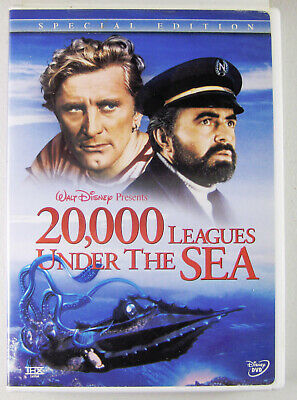 Disney's 20,000 Leagues Under the Sea (DVD) Kirk Douglas,James Mason,Peter Lorre