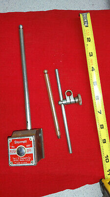 Starrett No. 657D Magnetic Base and Indicator Holder
