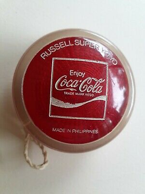 Vintage Coca Cola Russell Super Reflector YoYo 1970's Made In Philippines