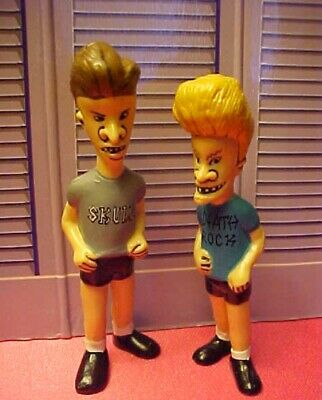 """Mailed from USA Die Cut Beavis /& Butthead 3.5/"""" Embroidered Patch Set of 2"""