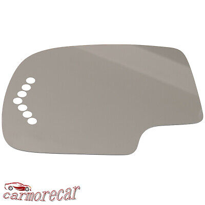 NEW Mirror Glass 92-07 FORD CHEVY GMC VAN Driver Left Side UPPER