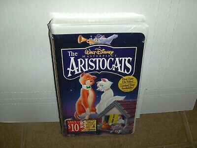 Disney The Aristocats VHS BRAND NEW SEALED Classic Walt Disney Masterpiece