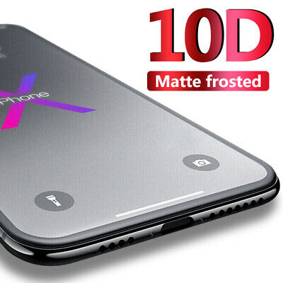 10D Matte Hydrogel Soft Film Full Coverage Screen Protector For iPhone XS XR 8 7