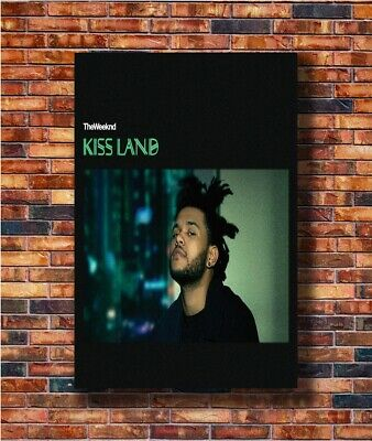 The Weeknd Starboy Kiss Land Art Print Silk 8x12inch Poster Y3067