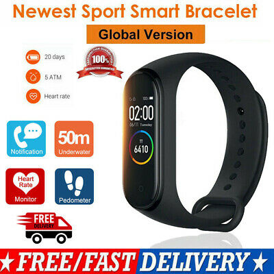 Blood Pressure Heart Rate Monitor Smart Watch Sports Bracelet Fitness Tracker UK