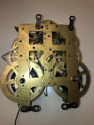 Seth Thomas Antique Mantel Clock Movement (89)
