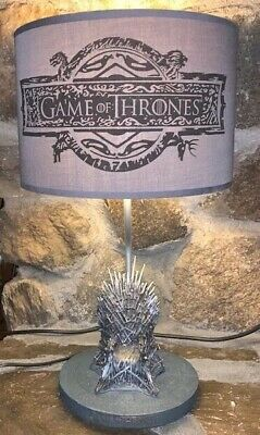GAME OF THRONES HBO Licensed IRON THRONE Replica House Sigil LAMP Very Rare!