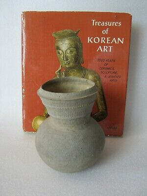 Original Ancient 5th Century Korean Old Silla Dynasty (57BC-935AD) Stoneware Jar