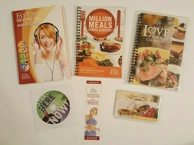The Food Lovers Fat Loss System 21 Day Transformation Diet Kit Books Audio NEW