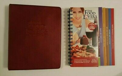 The Food Lovers 21-Day Fat Loss System Spiral-Bound Guide Books + Binder NEW
