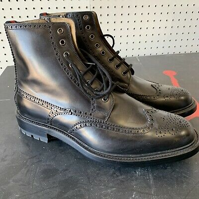 fdae1f526 GUCCI MENS LEATHER Boot Kenya Old Cocoa Color, Size 10 - $550.00 ...