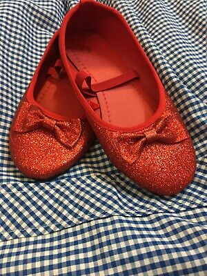Ruby Slippers Dorothy shoes book week girls costume shoes Wizard of Oz shoes.