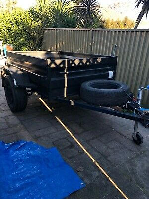 Trailer 6x4 high sides  Good condition