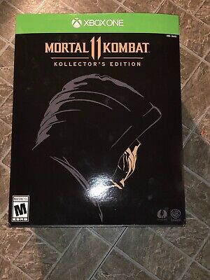 Mortal Kombat 11 Kollector's Edition XBOX ONE + Collector's 1:1 Scorpion Mask