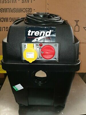 Trend Wet & Dry Vacuum Dust Extractor 1600 Watts 110v