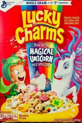Lucky Charms American Cereal 297G box