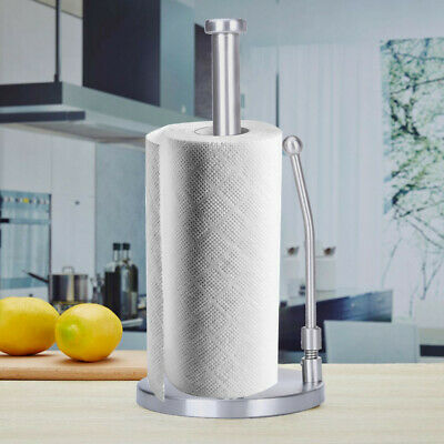1pc Good Grips Simply Tear Standing Paper Towel Holder, Brushed Stainless Steel